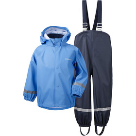 DIDRIKSONS Slaskeman 4 Rain Set Kids, breeze blue